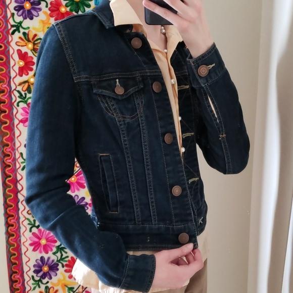 b87fd5d6cb American Eagle Outfitters Jackets   Blazers - American Eagle Women s XS  Denim Jacket Dark-Wash